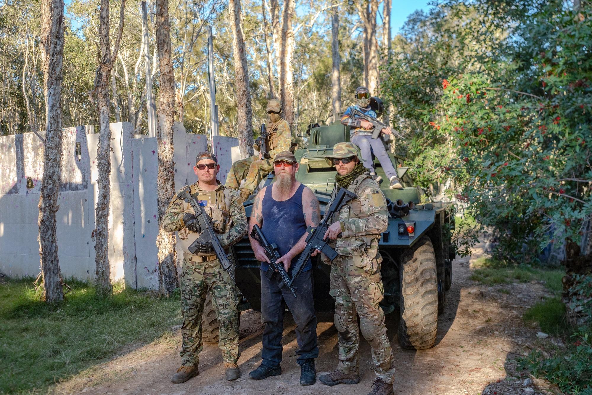Paintball Brisbane | Outdoor Laser Skirmish Brisbane - Mango Hill